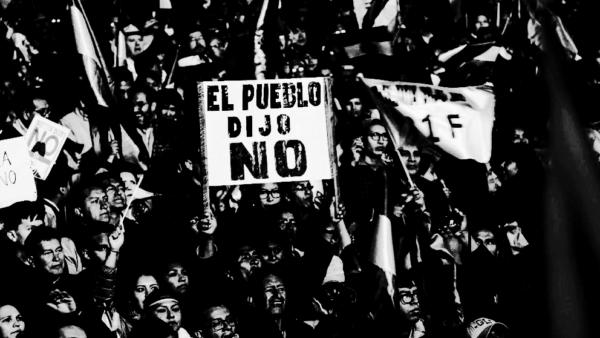 Bolívia: organizar a população contra o autoritário Evo!